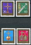 (1975) MiNr. 625 - 628 ** - Lichtenštejnsko - Klenoty ze státní pokladny Vídeňského Hofburgu (I)