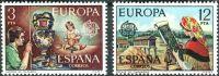 (1976) MiNr. 2209 - 2210 ** - Španělsko - Europa: Umění a řemesla