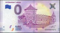 (2018-1) Slovakia - KEŽMARK CASTLE - € 0, - commemorative souvenir