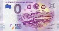 (2018-1) Slovensko - Slovak International AIR FEST - € 0,- pamětní suvenýr