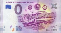 (2018-1) Slovakia - Slovak International AIR FEST - € 0, - commemorative souvenir