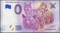 (2018-1) Slovensko - ZOO Bratislava - € 0,- pamětní suvenýr