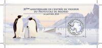 (2018) MiNr. 1012 ** - FA - BLOCK 62 - 20 Jahre Umweltschutzprotokoll zum Antarktisvertrag von Madri