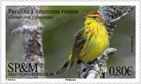 (2018) MiNr. 1290 ** - Saint Pierre a Miquelon - lesňáček bažinný