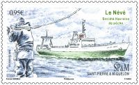 (2018) MiNr. 1292 ** - Saint Pierre a Miquelon - rybářská plavidla