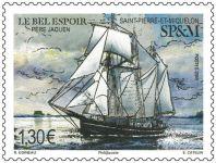 (2018) MiNr. 1296 ** - Saint Pierre a Miquelon - stará loď