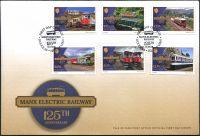 (2018) MiNr. 2398 - 2403 - FDC - Isle of Man - Manx elektrická železnice