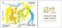 (2018) MiNr. 6983 ** - Francie - 110 let sportovní asociace PTT