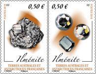(2018) MiNr. 993 - 994 ** - Francouzská Antarktida - 2-bl - minerály
