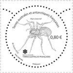 (2018) MiNr. 995 ** - Francouzská Antarktida - pavouk