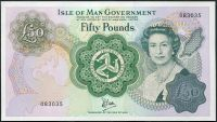 Isle of Man - (P 39)  50 Pounds (1983) - UNC