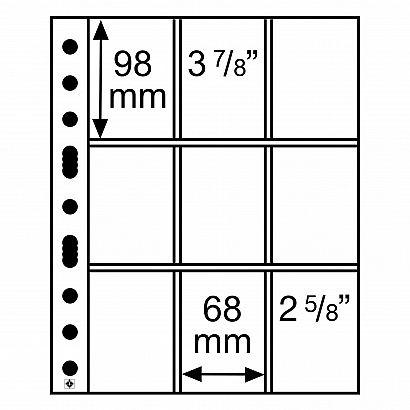 SH list 312 - 3/3 C -  tel. a sběratelské karty (bal. 50 ks)