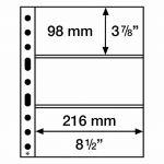 SH list 312 - 3C - na bankovky, vstupenky (bal. 50 ks)
