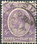 (1922) Gi. 77 / MiNr. 2 - O - Keňa a Uganda - král Jiří V.