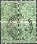 (1922) Gi. 79 / MiNr. 3 - O - 4-bl - Keňa a Uganda - král Jiří V.