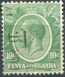 (1922) Gi. 79 / MiNr. 3 - O - Keňa a Uganda - král Jiří V.