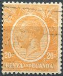 (1922) Gi. 83 / MiNr. 6 - O - Keňa a Uganda - král Jiří V.