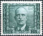 (1938) MiNr. 614 ** - Itálie - Viktor Emanuel III.