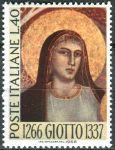 (1966) MiNr. 1217 ** - Itálie - 700. narozeniny Giotto di Bondone