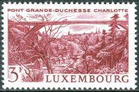 (1966) MiNr. 737 ** - Lucembursko - krajiny