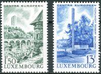 (1966) MiNr. 738 - 739 ** - Lucembursko - Evropské centrum Lucembursko