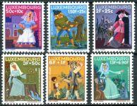 (1966) MiNr. 740 - 745 ** - Lucembursko - Charita