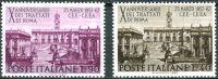 (1967) MiNr. 1221 - 1222 ** - Itálie - 10. výročí podpisu Římské smlouvy