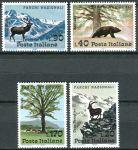 (1967) MiNr. 1226 - 1229 ** - Itálie - národní parky