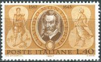 (1967) MiNr. 1230 ** - Itálie - 400. narozeniny Claudia Monteverdiho