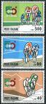 """(1967) MiNr. 1231 - 1233 ** - Itálie - 50. jízda na kole """"Giro d'Italia"""""""