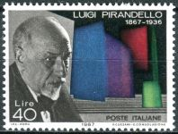 (1967) MiNr. 1234 ** - Itálie - 100. narozeniny Luigi Pirandello