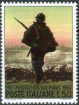 (1967) MiNr. 1246 ** - Itálie - 50. výročí držení Piavelinie proti postupujícím rakousko-uherským je