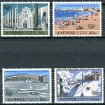(1967) MiNr. 298 - 301 ** - Kypr (řecký) - Mezinárodní rok cestovního