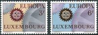 (1967) MiNr. 748 - 749 ** - Lucembursko - Europa