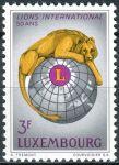 (1967) MiNr. 750 ** - Lucembursko - 50 let Lions International