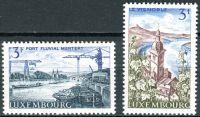 (1967) MiNr. 757 - 758 ** - Lucembursko - Krajina: Mosel