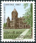 (1967) MiNr. 764 ** - Lucembursko - Schlossberg, sídlo velkovévodského rodu