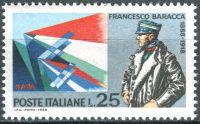 (1968) MiNr. 1276 ** - Itálie - 50. výročí úmrtí Francesca Baracky