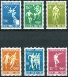 (1968) MiNr. 765 - 770 ** - Lucembursko - Letní olympijské hry, Mexico City