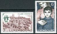 (1968) MiNr. 775 - 776 ** - Lucembursko - SOS dětská vesnička Mersch