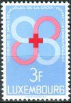 (1968) MiNr. 778 ** - Lucembursko - Dobrovolní dárci krve lucemburského Červeného kříže