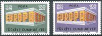 (1969) MiNr. 2124 - 2125 ** - Turecko - Europa