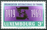 (1969) MiNr. 792 - ** - Lucembursko - 50 let Mezinárodní organizace práce (ILO)