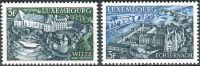 (1969) MiNr. 796 - 797 - ** - Lucembursko - krajiny