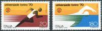 (1970) MiNr. 1312 - 1313 ** - Itálie - Univerziáda Turín