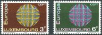 (1970) MiNr. 807 - 808 - ** - Lucembursko - Europa