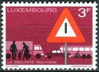 (1970) MiNr. 809 - ** - Lucembursko - bezpečnost silničního provozu