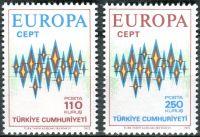 (1972) MiNr. 2253 - 2254 ** - Turecko - Europa