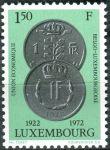 (1972) MiNr. 841 - ** - Lucembursko - 50 let belgicko-lucemburské hospodářské komunity