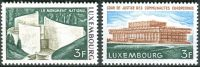 (1972) MiNr. 850 - 851 - ** - Lucembursko - budovy